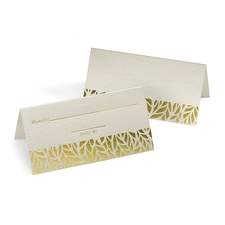 Organic Leaves - Place Card