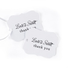 Love is Sweet - Favor Tags