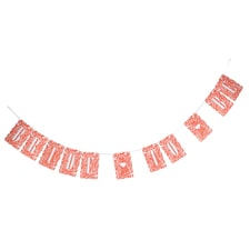 Bride-to-Be Banner - Floral