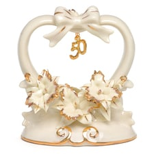 50th Anniversary - Porcelain Cake Top