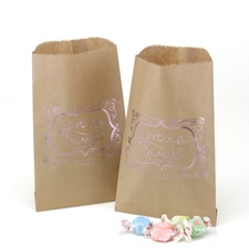 Love Is Sweet - Treat Bags - Kraft