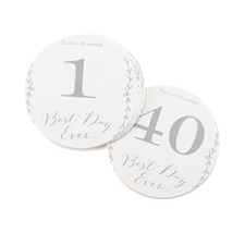 Rustic Vines - Table Number Cards