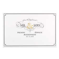 Golden Elegance - Place Mat