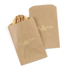 Golden Elegance - Treat Bag - Kraft