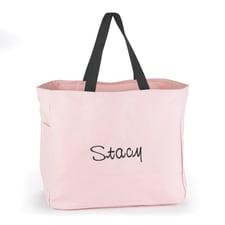 Custom Tote Bag - Pink