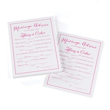Marriage Advice Cards - Personalized