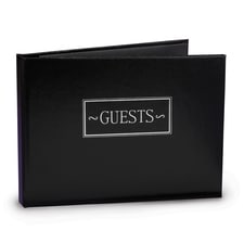 All Occasion - Guest Book - Black