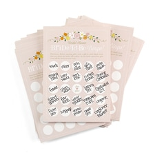 Bridal Shower - Bride - to - Be - Bingo Game