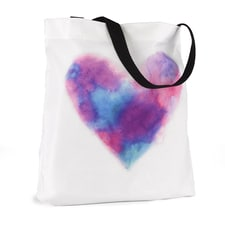 Painted Heart - Tote Bag