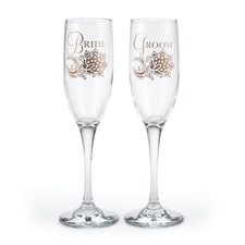 Lace Shimmers Flutes