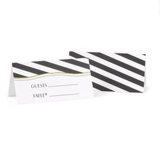 Stripes Galore - Place Card
