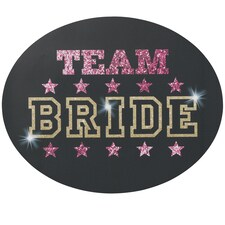 Team Bride - Repositionable Cling
