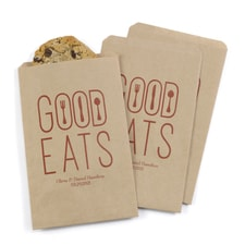 Good Eats Treat Bags - Kraft - Personalized