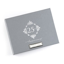 Silver Anniversary Guest Book