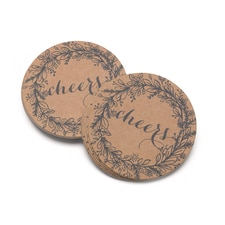 Rustic Wreath - Coaster