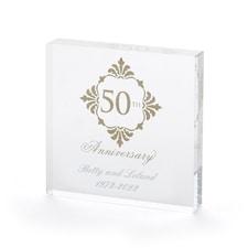 Golden Anniversary - Cake Top