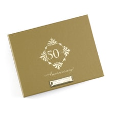 Golden Anniversary Guest Book