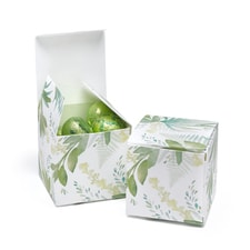 Greenery Favor Box - Blank