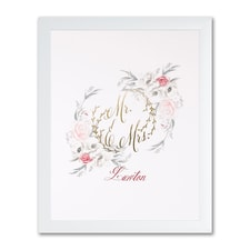 Ethereal Floral - Art Print - Framed