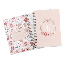 Floral Frame - Gift Record Book