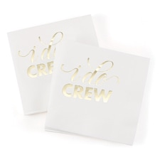 I Do Crew - Napkins