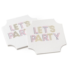 Let's Party - Coasters