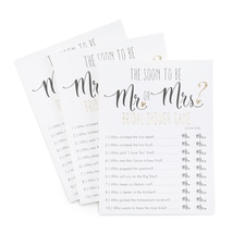 Mr or Mrs Guess Who - Newlywed Game