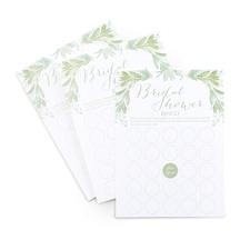 Greenery - Bridal Shower Bingo