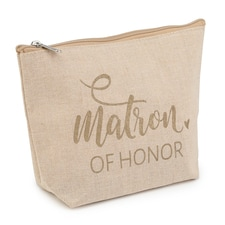 Matron of Honor - Flourish Cosmetic Bag