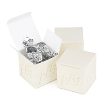 Fifty Years Anniversary - Favor Box - Blank