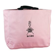 Wedding Party - Pink Tote Bags - Bride