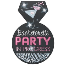Bachelorette Party On Board - Repositionable Cling