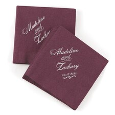 First Names Napkin - Berry