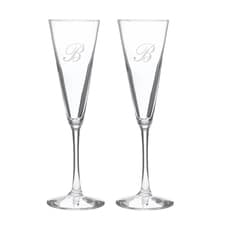 Flared Champagne Flutes
