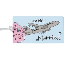 Just Married - Luggage Tag