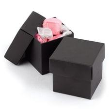 Two-piece Favor Box - Blank - Black