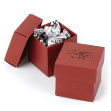 Two-piece Favor Box - Personalized - Claret