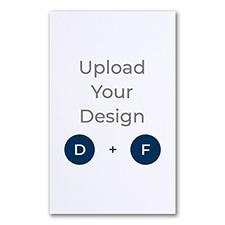 5 3/4 x 9 1/4 (A10) Flat Card, Glitter Paper, Digital and Foil
