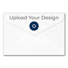 (A8) Outer Double Envelope, White, Offset