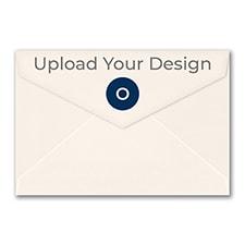 (A8) Outer Single Envelope, Ecru, Offset