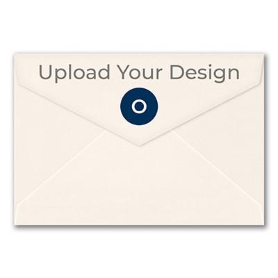 (A8) Outer Double Envelope, Ecru, Offset