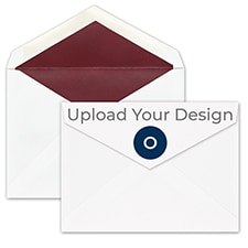 (A6) Envelope, White/Berry, Offset