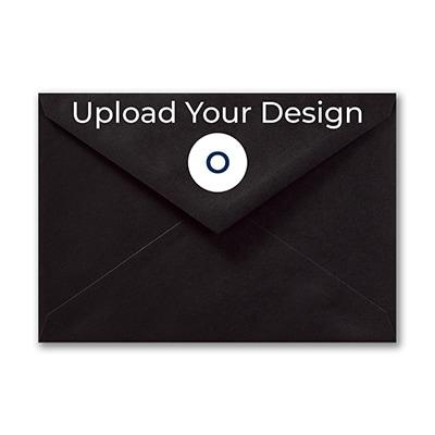 (R1) Outer Single Envelope, Black, Offset