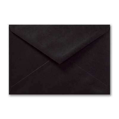 (R1) Outer Double Envelope, Black, Blank