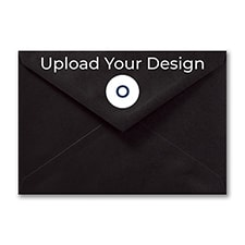 (R1) Outer Double Envelope, Black, Offset