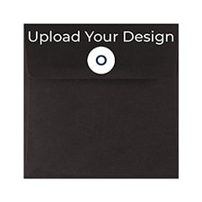 (S1) Outer Single Envelope, Black, Offset