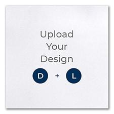 7 x 7 (S2) Flat Card, Digital and Letterpress