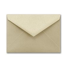 (A1) Envelope, Gold Shimmer, Blank