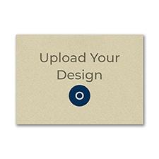 (A1) Envelope, Gold Shimmer, Printed Front, Offset