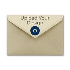 (A1) Envelope, Gold Shimmer, Offset
